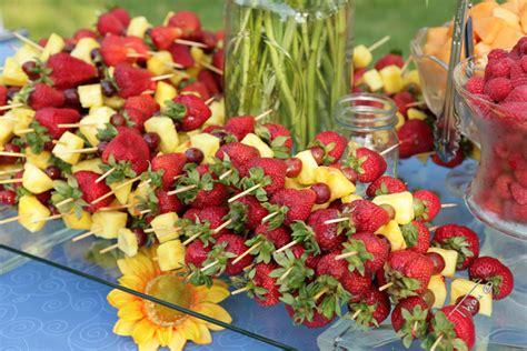 backyard appetizers summer weddings incorporate backyard bbq favorites into