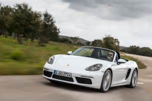 Or Porsche 2017 Porsche 718 Boxster Fully Revealed With Turbo Flat