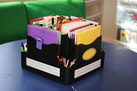 Pin By Homeschool Creations On Organization Pinterest Apprentice Desk Organizer