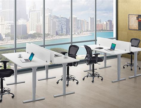 affordable sit stand desk affordable office sit to stand desks granite state office