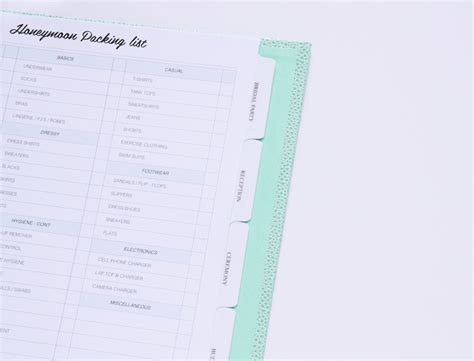 Paper Trail Planner wedding planner sweet paper trail
