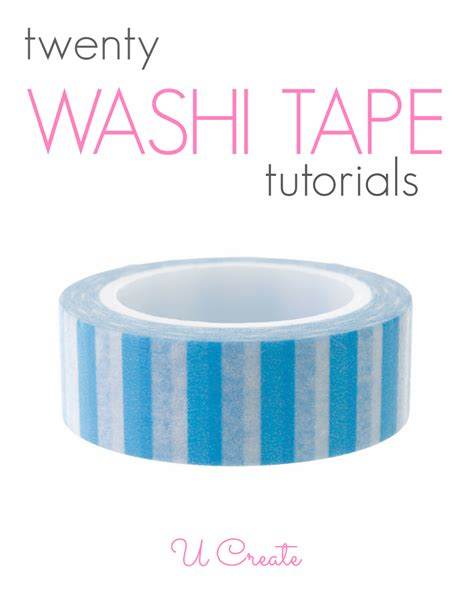 washing tape 20 washi tape tutorials u create