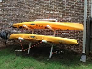 Backyard Kayak Rack Kayak Storage Outside Tigerdroppings