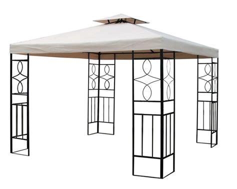 Pavillon Metall 3x3 by Wasserdichter Partyzelt Pavillon Festzelt Romantika Metall