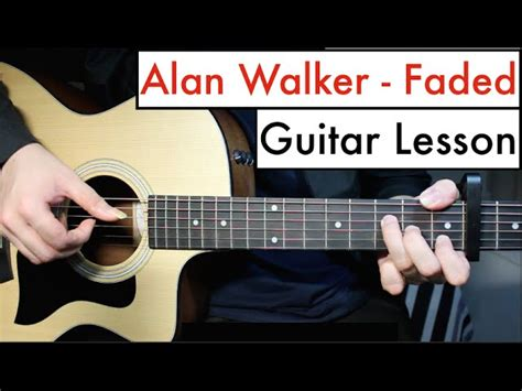 alan walker guitar hero alan walker faded guitar lesson tutorial chords
