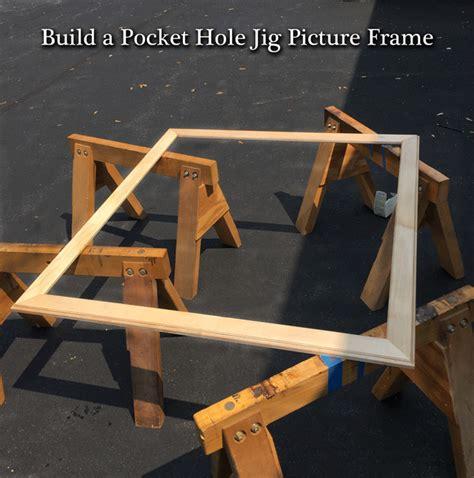 build  pocket hole jig picture frame popular