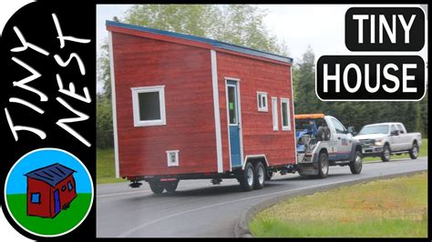 utube tiny houses towing a tiny house ep 50
