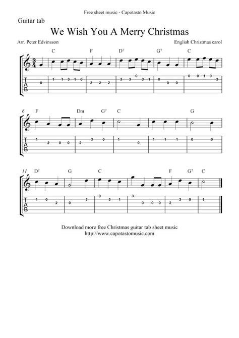 sheet  scores guitar tab christmas sheet  printable sheet   sheet