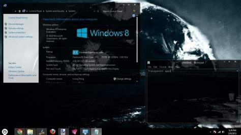 desktop themes des download windows 8 black theme download dark theme for windows 8 abisso