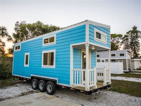 tiny homes florida rent the adorable blue oasis house in sarasota