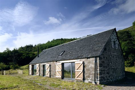 leachachan barn rural design architects isle of