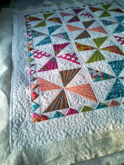Pin Wheel Quilt by Adorable Baby Quilts Pinwheels And Log Cabins Custom