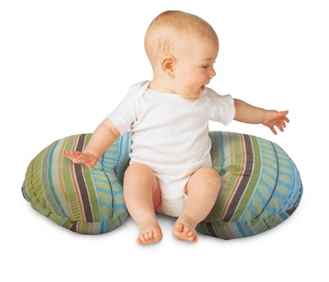 When Can You Give Baby A Pillow by Boppy Pillow With Slipcover Park Hill