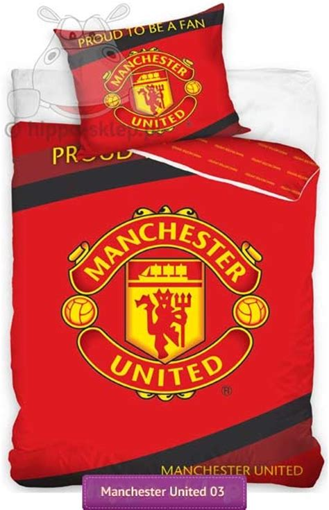 Bedcover Set Manchester United 180x200 soccer bedding manchester united 02 children bedding