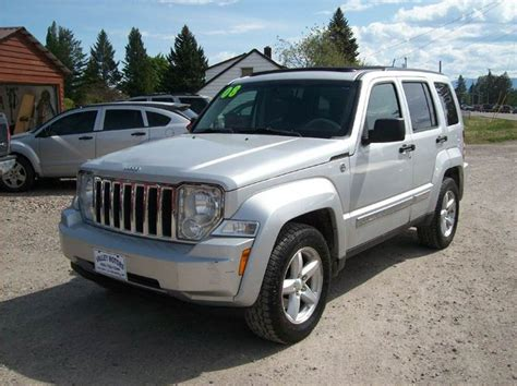 2008 Jeep Liberty Limited 4x4 2008 Jeep Liberty Limited 4x4 4dr Suv In Kalispell Mt