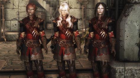 crimson ranger armor skyrim mod mod skyrim oblivion morrowind world of elder scrolls