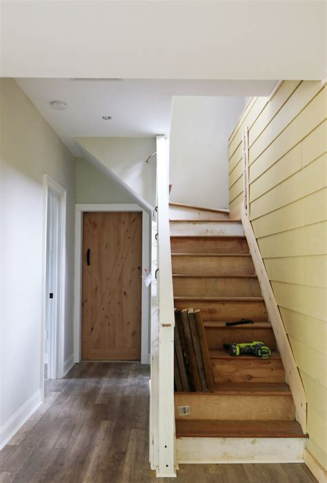Shiplap Wall Hanging How To Shiplap Wall And Open Pipe Shelves 36 S