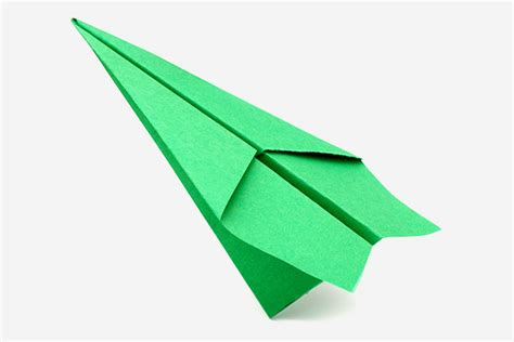 Origami Paper Airplane - top 15 paper folding or origami crafts for