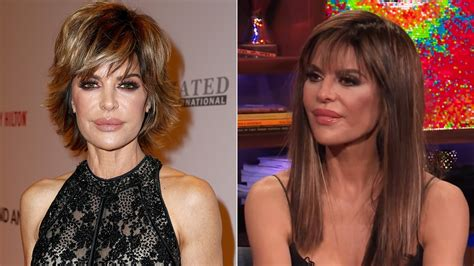 how does lisa rinnsblow dry her hair lisa rinna ditches her signature bob for longer locks see