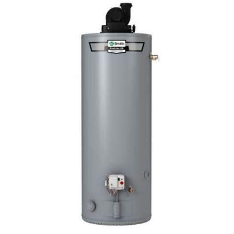 GPVT 40 LP   AO Smith GPVT 40 LP   40 Gallon   50,000 BTU ProLine Power Vent Residential Gas