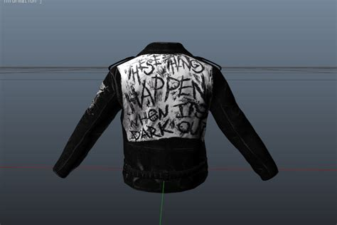 g eazy leather jackets g eazy these things happen leather jacket gta5 mods com