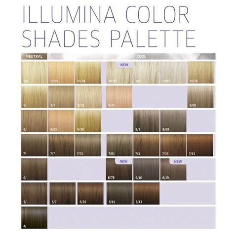 wella illumina color chart the 25 best wella illumina color ideas on