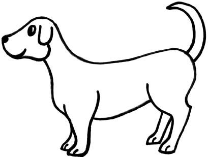 puppy clipart black and white black and white clip cliparts co