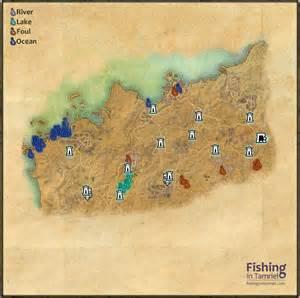 fishing maps daggerfall covenant fishing maps fishing in tamriel