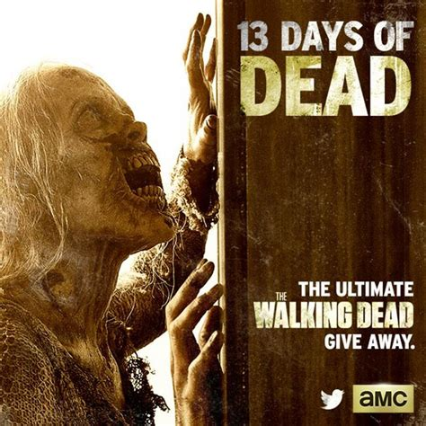 Walking Dead Sweepstakes - walking dead sweepstakes quot 13 days of dead quot new prizes daily l7 world