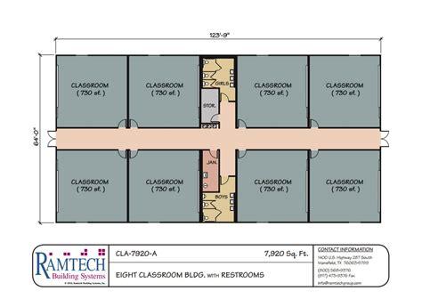 classroom floor plan builder ramtech education school and classroom floor plans