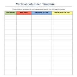 vertical timeline template blank timeline template 40 free psd word pot pdf