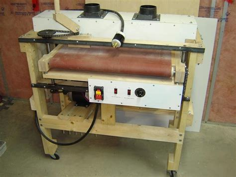 woodworking supply a thickness drum sander i built by mreza