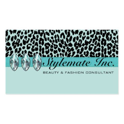 Free Leopard Print Business Card Template by 40 000 Animal Print Business Cards And Animal Print