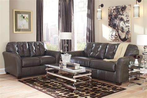 gray living room set santigo dark gray living room set