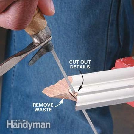cope joints  wood corner trim finsnickeri