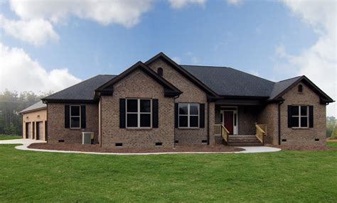 one story new home pittsboro home builders stanton homes