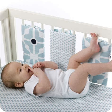 Individual Crib Rail Bumpers by Organic Individual Cot Bumpers Olli Ella Sewing For