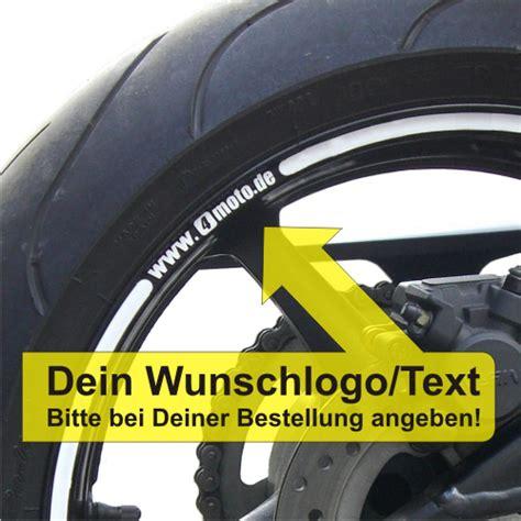 Felgenrandaufkleber Wunschtext by 4moto Shop Felgenrandaufkleber Gp Style Wheelskinzz