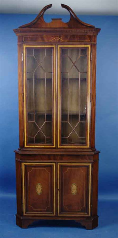 antique corner cabinet for sale antique style english mahogany corner cabinet for sale