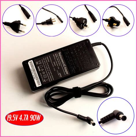 Adaptor For Sony 19 5v 4 7a 19 5v 4 7a laptop ac adapter charger for sony vaio pcga