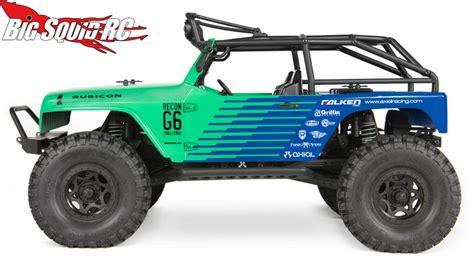 Axial Scx10 Jeep Axial Scx10 Jeep Wrangler G6 Falken Edition Rtr 171 Big