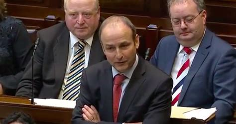 fianna fail front bench fianna f 225 il have tabled a motion of no confidence in