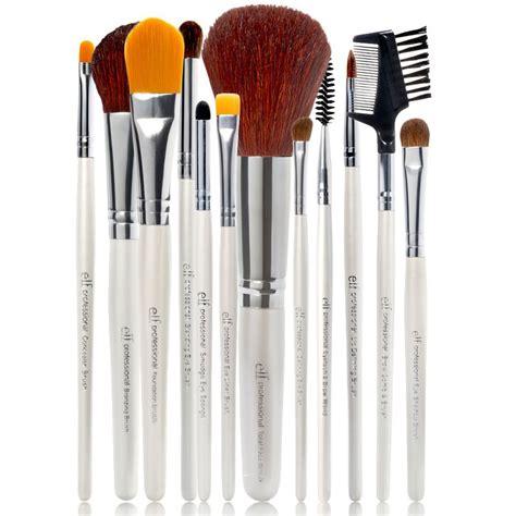 set by l e l f cosmetics essential professional complete brush
