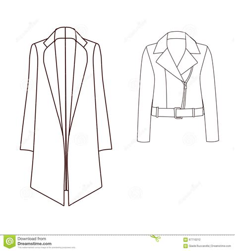 coat template biker jacket template templates collections