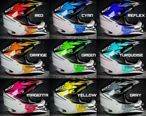 custom motocross helmet wraps 100 custom motocross helmet o u0027neal 10 series