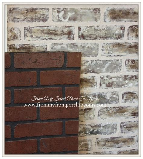 Faux Wall Painting Ideas - best 25 faux brick walls ideas on pinterest building a brick wall fake brick walls and faux