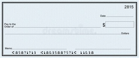 bank of america background check large bank check with false numbers stock illustration