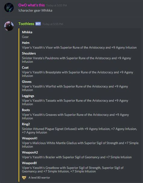 discord command list gw2 commands for discord guildwars2