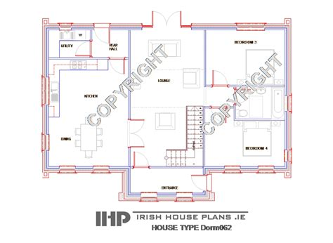 irish cottage floor plans irish house plans