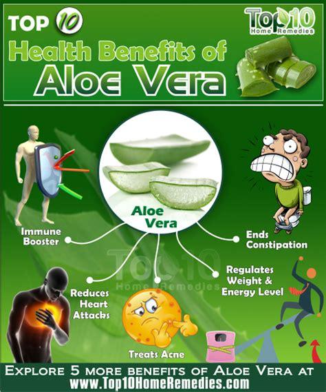 Top 10 Health Benefits of Aloe Vera   Top 10 Home Remedies
